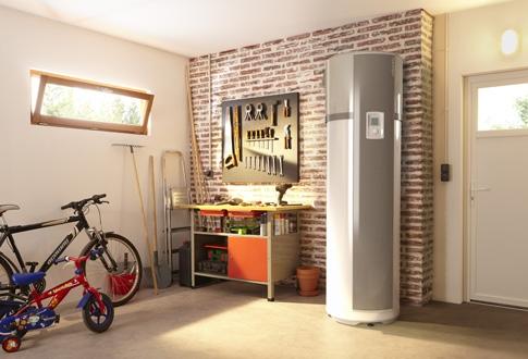 Chauffe eau thermodynamique for Isoler chauffe eau garage